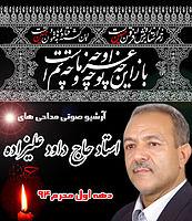 مداحی های حاج داود علیزاده در دهه اول محرم 1394