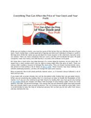 Everything That Can Affect the Price of Your Stock and Your Profit.pdf
