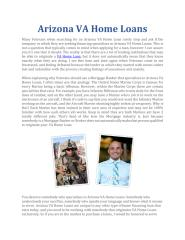 Arizona VA Home Loans.pdf