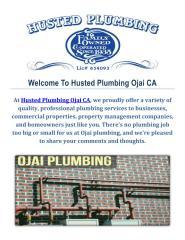 Plumbing Repair & Installation Services in Ojai.pdf