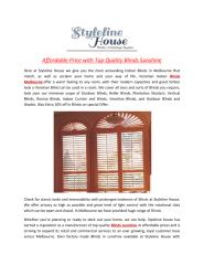 Affordable_Price_with_Top_Quality_Blinds_Sunshine.PDF