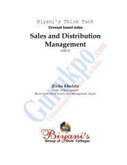 Sales& Distribution Management.pdf