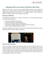 Educational And Career Journey Of Professor Julio Licinio.doc