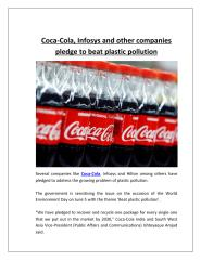 Coca-Cola, Infosys and other companies pledge to beat plastic pollution.pdf