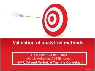 WEFAK_Validation of analytical methods.pptx