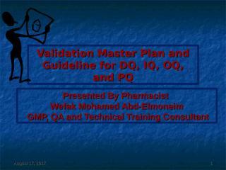 WEFAK_Validation Master Plan75 final.ppt