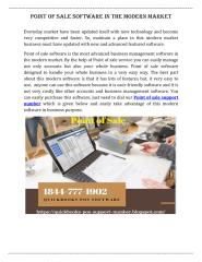 Point of sale software in the modern market.pdf