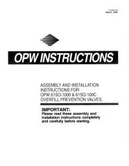 61SO 1000 and 100C Overfill Valve Install Inst - English C4081M .pdf