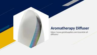 Aromatherapy Diffuser.ppt
