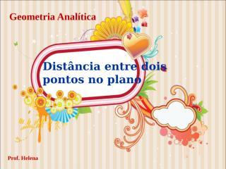 Geometria Analitica Ponto e reta - 2010[1].ppt