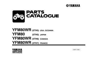 yfm 80 2003 quadr. Catálogo de peças.pdf