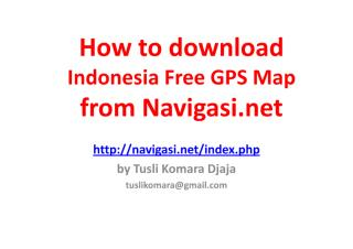 How to download Indonesia Free GPS Map.pdf