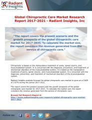 Global Chiropractic Care Market Research Report 2017-2021 - Radiant Insights.pdf