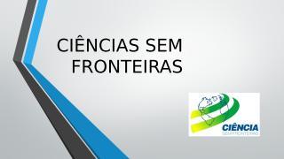 SENAC - Ciências Sem Fronteiras.pptx