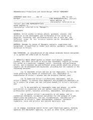 NR-Artist Contract.doc