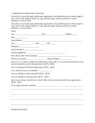 Form02 Application for Employment Long Form.doc