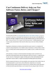 Can Continuous Delivery help you Test Software Faster, Better, and Cheaper.pdf