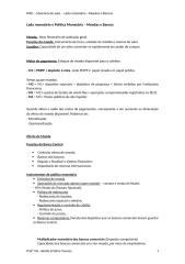 Memória da aula POLITICA MONETARIO.doc
